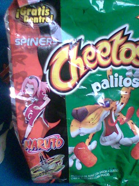 Cheetos: Versión Sakura